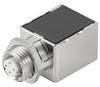 Passive Industrial Ethernet IP67 Plug-In Connector M12 Adaptor / Coupling -- IE-M12-ADAP S - Image