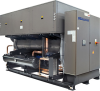 Water Cooled Water Chillers With Semihermetic Screw Compressors -- Hevw EA