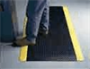 Wearwell Diamond-Plate Safety Mat, 3 ft W x custom length, 9/16