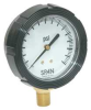 Compound Gauge,Liquid Filled,60 psi,NIST -- 5NMV2