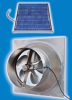 Natural Light Gable Mounted Solar Attic Fan -- SAFTS