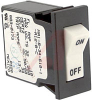 Circuit Breaker;Hyd/Mag;Rocker;Cur-Rtg 10A;Snap-In Front Panel;1 Pole -- 70131642