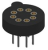 Socket for TO-100 Transistor-10pins -- 4594 - Image