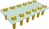 Relay Sockets, Solder Dip/12 Pin -- G6K2PRF-12P-AL33-C - Image