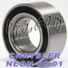CHRYSLER NEON Auto/Car Wheel Ball Bearing 2000-2001 -- Kit11042_1