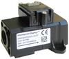 Honeywell Zephyr™ Analog Airflow Sensors: HAF Series-High Accuracy, unidirectional flow, G 3/8 female threaded fitting per ISO 1179, 0 SLPM to 200 SLPM flow range, digital I²C address: 0x49 -- HAFUHT0200L4AXT