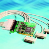 4 Port RS232 PCI Serial Port Card DB25 -- UC-265 -- View Larger Image