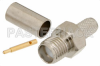 RP SMA Female Connector Crimp/Solder Attachment For RG58 -- PE4795