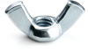 #10-24 Cold Forged Wing Nut, Zinc -- NG2WIN01024Z - Image