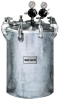 Stainless Steel Tank -- 30 Gallon Stainless Steel Fitted