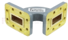 WR-90 Waveguide H-Bend Commercial Grade Using CPR-90G Flange With a 8.2 GHz to 12.4 GHz Frequency Range -- SMF90HBA - Image
