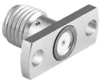 RF Coaxial Panel Mount Connector -- 142-1701-621 -Image