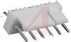 .100 RT ANGLE HEADER;6 CIRCUITS -- 70190813 - Image