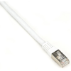 Double-shielded CAT6 cable for noisy data center and desktop connections. -- EVNSL0272WH-0003