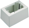 Surface Raceway : Surface Mount Boxes, Faceplates, & Receptacles : Low Voltage Surface Mount Boxes -- JB1DAW-A