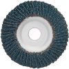 Merit ZA Coarse Center Mount Aluminum Conical Flap Disc -- 08834193719 - Image
