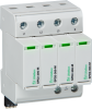 Surge Protection Devices -- SPD2 4P+0 Series - Class II/Type 2/Type 1 CA Pluggable Multi-Pole -- View Larger Image