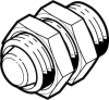 Pneumatic shock absorber -- DYEF-S-M12-Y1 -- View Larger Image