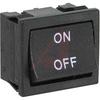 Switch, Rocker, Miniature, 2 POLE, ON-OFF, ON OFF LEGEND -- 70207318 - Image