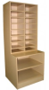 Mail Slots and Flat Paper Storage Base Unit