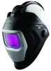 3M Speedglas 9100 QR 56361 Black Helmet Assembly - Auto-Darkening Lens - Battery Powered - 4.2 in Viewing Width - 2.8 in Viewing Height - 051141-56361 -- 051141-56361 -- View Larger Image