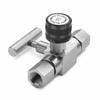 Block & bleed valve - 1/4