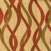 Curved Lines Chenille Fabric -- R-Java -- View Larger Image
