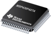 MSP430F427A 16-bit Ultra-Low-Power Microcontroller, 32KB Flash, 1KB RAM, Sigma-Delta ADC, 128 Seg LCD -- MSP430F427AIPM - Image