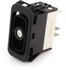 EATON NGR Rocker Switch, SPDT, On-None-On-Off, Amber LED, NGR15031BNY0N -- 43006 -Image