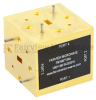 WR-22 Magic Tee Waveguide Using UG-383/U Round Cover Flange and Operating from 33 GHz to 50 GHz -- FMWMT1004 - Image