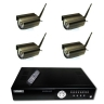 4 Camera Outdoor Wireless Package With DVR