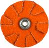 Norton Blaze CA Medium Grit Overlap Slotted Disc -- 66261195367 - Image