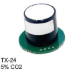 TX Carbon Dioxide Industrial Sensors with Transmitter -- TX-24