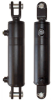 "Welded Hydraulic Cylinder - Clevis Ends - 3.5"" Bore X 16"" Stroke -- DBH-3516-WC"