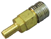 Coupler Socket,Hose Barb,1/4 -- 31C957