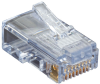 Cat5e EZ RJ45 Modular Plug Connector-Unshielded TAA 50-Pack -- C5EEZUP-50PAK
