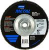Norton Metal ZA Coarse Arbor Thread Fiberglass Conical Flap Disc -- 66254420013 - Image