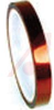 Polyimide Film Electrical Tape, Amber, Acrylic Adhesive, 1 mil, 1/2 in x 36 yds -- 70113135