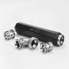 Captive Acceleration Tube Inlet Pressure Stabilizer