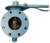 Butterfly Valve,Flanged,12 In,Locking -- 5LYH5