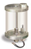 "Reservoir with Filter and Low Level Safety Switch, 1 qt Pyrex Reservoir, 5/8""-18 Thread for Remote Mounting, 1/8"" Female NPT Outlet -- B3177-63 -- View Larger Image"