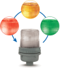 Chameleon XTRA-BRITE LED Multi-Status Indicator -- 105XBRi Series