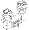 Double Pilot Solenoid Operated Spool Valves, 1650 Series - Image