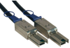 External SAS Cable, 4 Lane - mini-SAS (SFF-8088) to mini-SAS (SFF-8088), 2M (6-ft.) -- S524-02M - Image