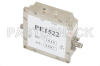 15 dBm P1dB, 4 GHz to 8 GHz, Gain Block Amplifier, 26 dB Gain, 3 dB NF, SMA -- PE1522 -Image