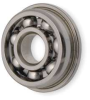Mini Ball Bearing,Flanged,Bore 0.0937 In -- 1ZEU5