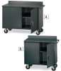 VALLEY-CRAFT Vari-Tuff Premium Two-Door Mobile Cabinets -- 5227527