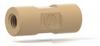 English Adapter Body 10-32 x 1/4-28, .020 thru hole -- P-627-01 - Image