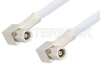 SMC Plug Right Angle to SMC Plug Right Angle Cable 12 Inch Length Using RG188-DS Coax -- PE34464-12 -Image