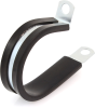 """Umpco S325G24 1 1/2"""" Plated Steel Cable Clamp, 1/2"""" Wide -- 25124 -- View Larger Image"""